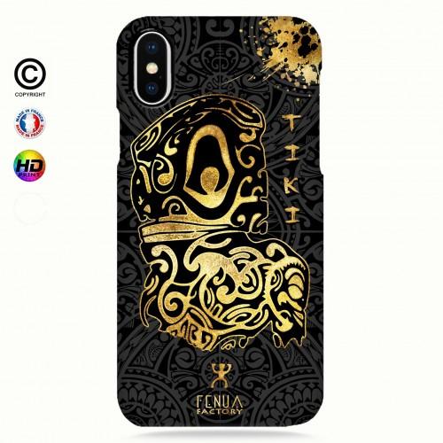 Coque iphone 8+ Tiki Gold