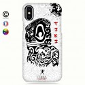 Coque iphone X Tiki B&W