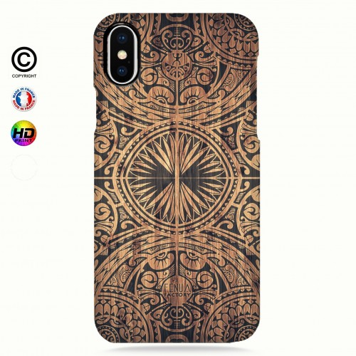 coque iphone X Tribal Bamboo