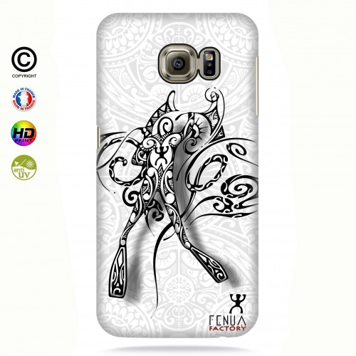 coque galaxy s6 edge b&w diving