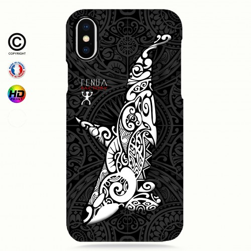 Coque iphone XS MAX Orque B&W