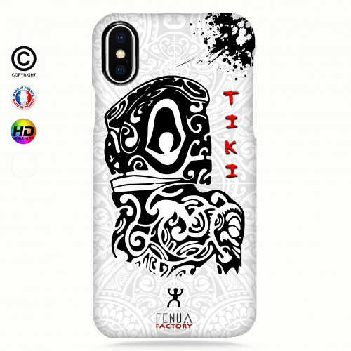 Coque iphone XS MAX Tiki B&W