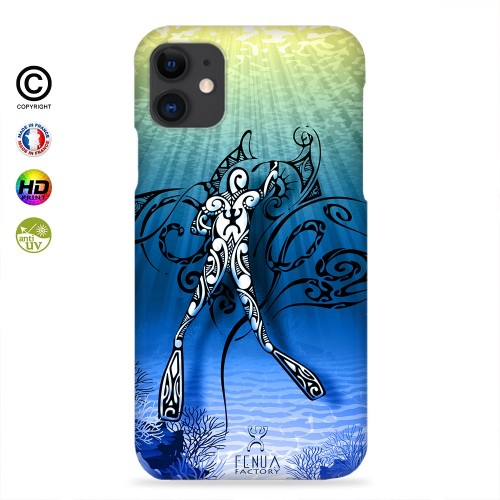 Coque iphone X Diving Under the Sea
