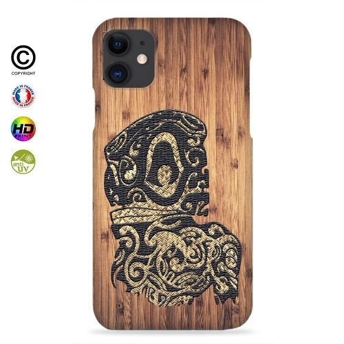 coque iphone X Tribal Bamboo Tiki